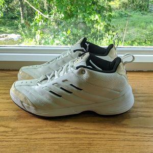Adidas lace up men's athletic shoe